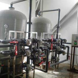 碳钢衬胶罐工业软化水设备