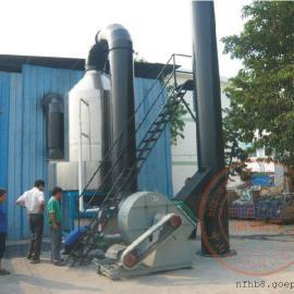明丽集团银雨照明公司中央熔炉烟尘废气治理净化设备