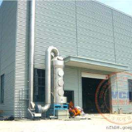 范德威尔纺织机械公司中央熔炉烟尘治理设备达标通过验收
