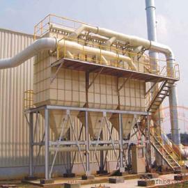 卡德莱化工(珠海)公司生物质锅炉烟尘袋式除尘设备