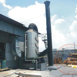 港丰电器集团公司压铸机熔炉烟尘废气处理净化北京赛车制造厂家