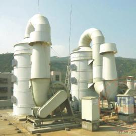 伟创力集团超毅电子公司酸雾废气治理净化项目设备