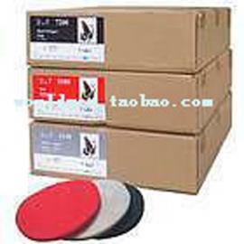 台湾蝴蝶牌BF百洁垫,石材清洁垫,17寸,白色4100起蜡垫
