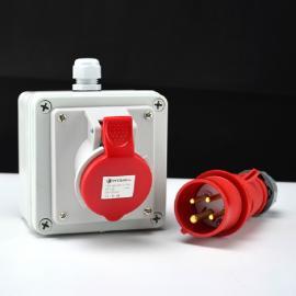 工业电缆插座盒
