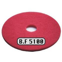 20寸台湾BF5100红色百洁垫,台湾原产BF地面清洁刷片,地面清洁垫