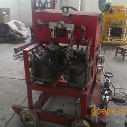 QY140四泵头气动试压泵,空气增压泵,气动泵原理图