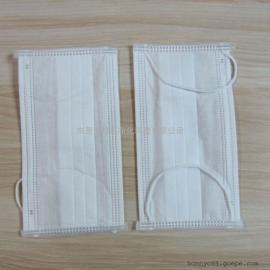 邦尼白色包边三层防护口罩/全新料/品质保证