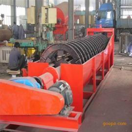 江西龙达厂价直销小型轮式洗矿机 螺旋洗砂机