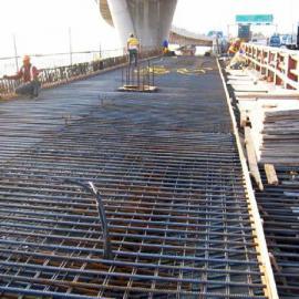 佛山桥梁带肋钢筋网片*广东焊接12个圆的-大尺寸钢筋焊接网
