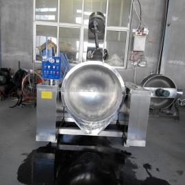 厂家直销行星搅拌锅 燃气炒锅 燃气加热搅拌夹层锅