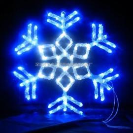 北京led雪花造型灯圣诞雪花装饰灯 led图案灯雪花造型灯