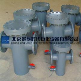 进口DN50法兰式篮式过滤器 PVC材质篮式管道过滤器