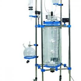 100L汕尾双层玻璃反应釜,玻璃反应釜