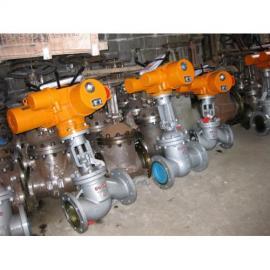电动法兰截止阀厂家,J941W,进口电动截止阀参数