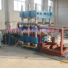 800t大型框架双排缸液压硫化机青岛框架液压自动平板硫化机