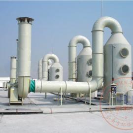 品高电子材料公司电镀,电解线酸雾废气治理设备工程设计