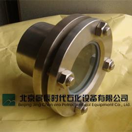 不锈钢304带颈法兰视镜 碳钢法兰对夹玻璃视窗 北京供应商
