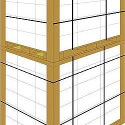 陕西纸护角 家具纸护角 包装护角