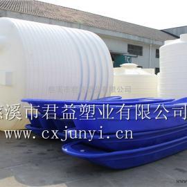长度是3.4米塑料小船