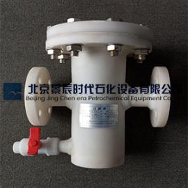 PP海水过滤器 PP化工管道过滤器 塑料PP防腐过滤器