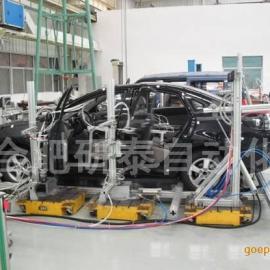 汽车四门两盖耐久试验台