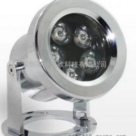 LED水底灯3w5w防水射灯大功率锌合金水下灯