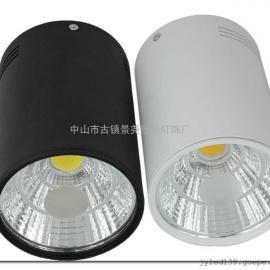 店铺亮化COB射灯/照明节能LED射灯