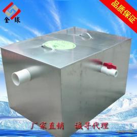 热销SUS304不锈钢隔油池无动力酒店餐饮厨房用可加工代理