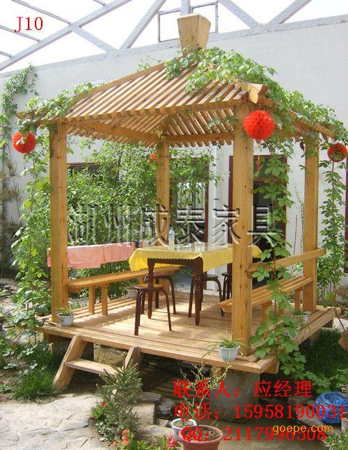 木质凉亭设计图