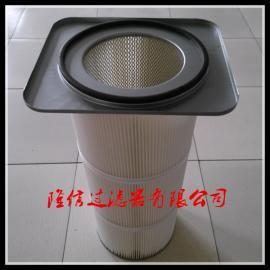 江苏厂家供应优质卡盘式除尘滤筒 方卡盘除尘滤芯特价销售