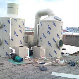 东莞长期销售 喷淋塔废气处理设备 pp喷淋塔 酸雾喷淋塔