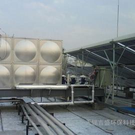 太阳能热水工程储热水箱,不锈钢保温水箱