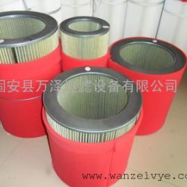 风机除尘滤芯厂家 聚酯纤维无纺布除尘滤芯