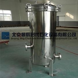不锈钢液体精密过滤器 单袋式精密过滤器 多袋式精密过滤器