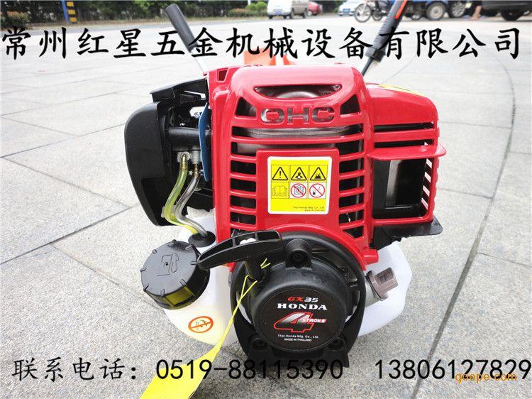 四冲程发动机,动力强劲,节能省油,操作简易,正品广州本田gx35侧挂式