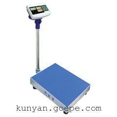 上海规矩300公斤计重电子台秤