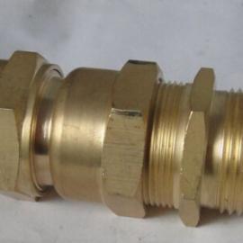 批发与定做黄铜镀镍铠装防爆填料函