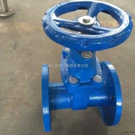 上海风雷 弹性座密封闸阀Z45X-10C 调节合截流