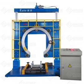 地暖管包装机,PERT盘管包装机,科特厂家直销