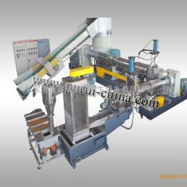 BOPET薄膜塑料回收造粒机组 废旧薄膜造粒机厂家直销