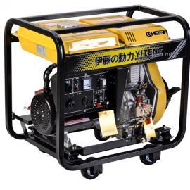 电启动5KW柴油发电机YT6800E