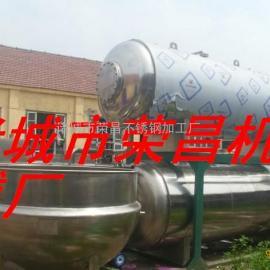 厂家专供卧式杀菌锅,自动多层喷淋式带热水罐杀菌机