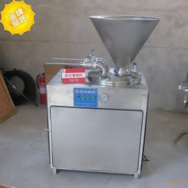 液压灌肠机YG-50/肉块肉粒灌肠机/Φ12-Φ45可调