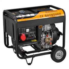 380V移动式5kw发电机价格