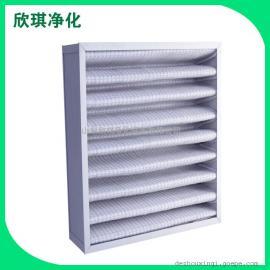 折叠式粗效过滤器 初中效空气过滤器 医用空气过滤器