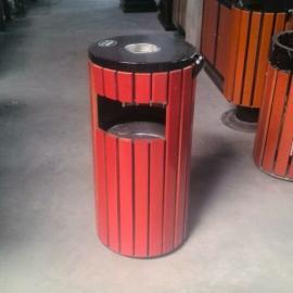 重庆涪陵区公园专用木条单桶,沙坪坝户外木条垃圾桶