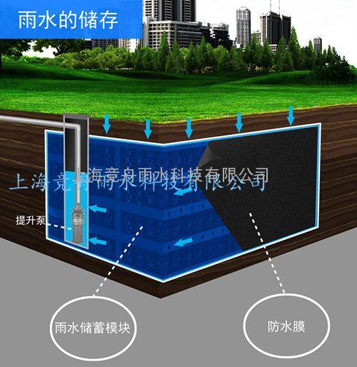 PP模块雨水收集池 玻璃钢雨水收集池厂家供货