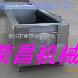 心里美萝卜清洗设备、不锈钢200型蔬菜清洗设备