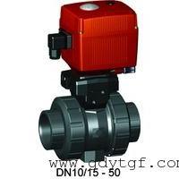 瑞士+GF+107型PVC-U电动球阀英制