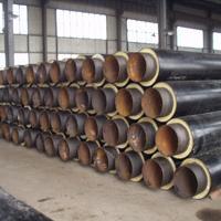 玻璃钢型聚氨酯预制保温管* 高密度聚乙烯夹克管
